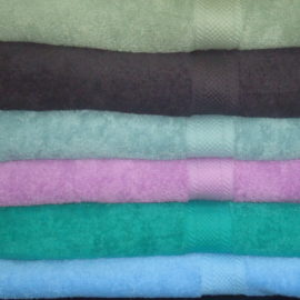 100% Cotton Dyed Towel