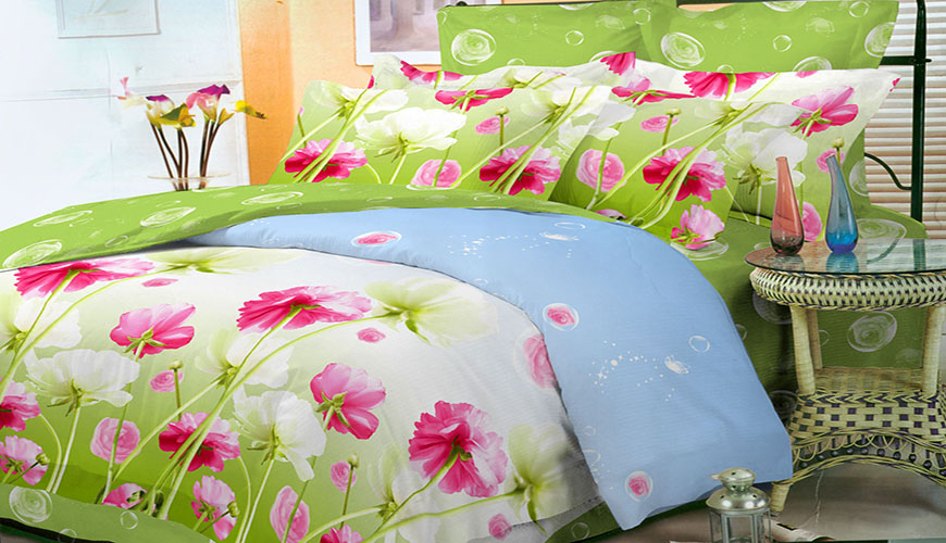 Printed Bed Set