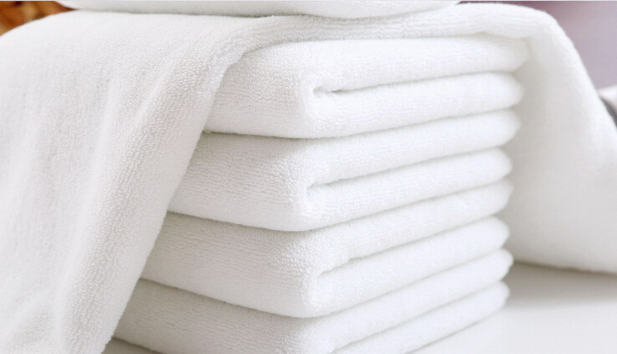 100%Cotton Terry Towel White