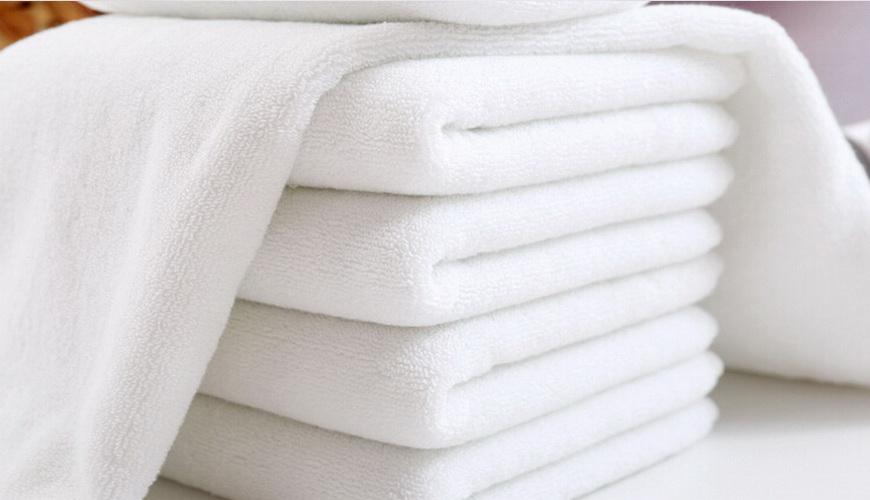 100%Cotton Terry Towel White